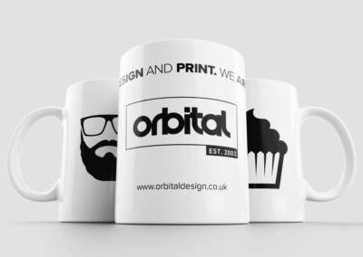 Personalised printed mugs