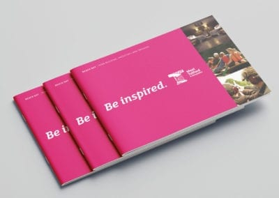 Bespoke flip book for Shropshire council
