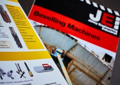 Product catalogues for JEI Solutions drilling machinery