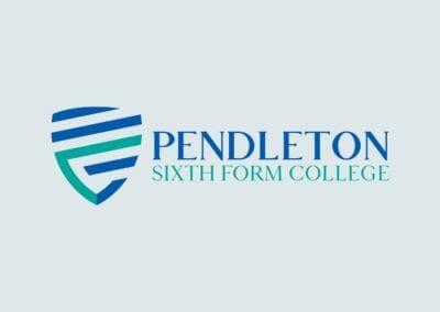 Branding identity Pendleton Sixth Form College