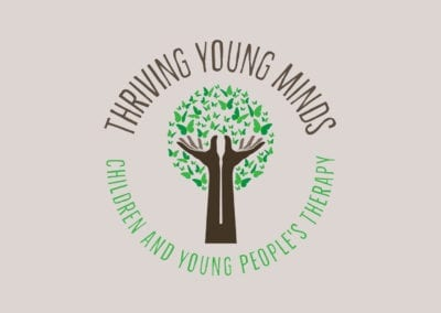 Logo design and branding for Thriving Young Minds