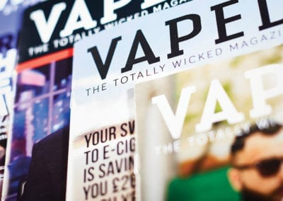 Vaped magazines Totally Wicked