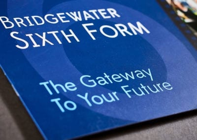 Sixth form school prospectus Bridgewater